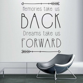 Memories and dreams wallsticker