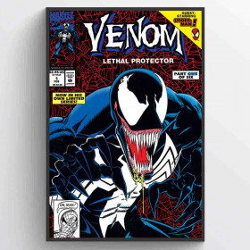 Venom (Lethal Protector Part 1) Poster wallsticker