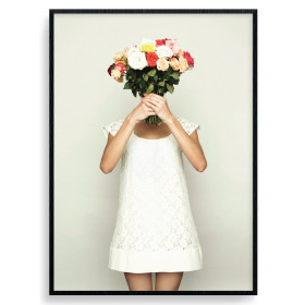 Flowers For You Poster wallsticker