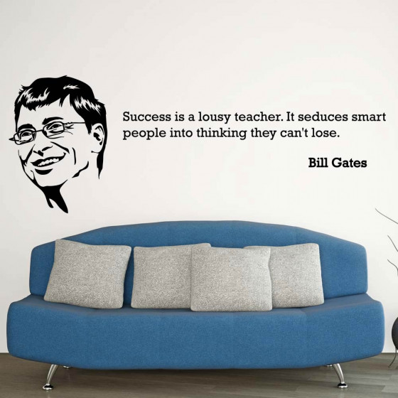 Bill Gates wallsticker