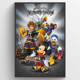 Kingdom Hearts (Classic) Poster wallsticker