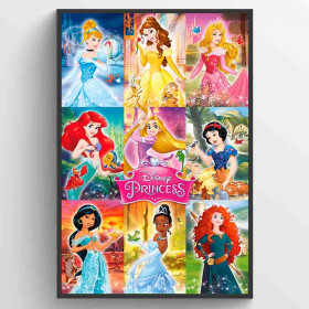 Disney Fairies Collage Poster wallsticker