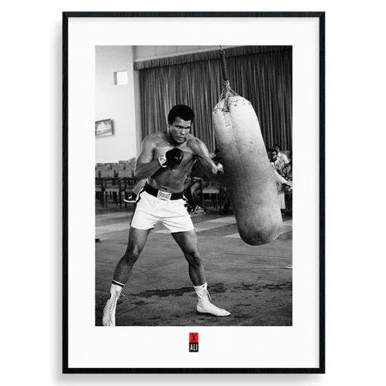 Muhammad Ali - Punch Bag Poster wallsticker