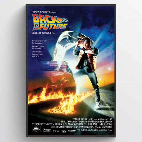 Back to the Future Poster wallsticker