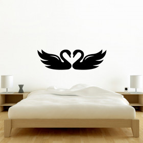 Zwanen wallsticker