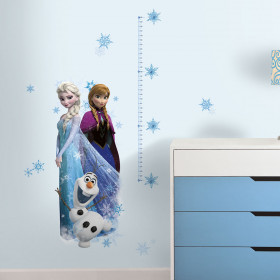 Frozen - hoogtemeter wallsticker