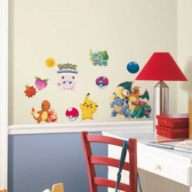Pokemon - set #1 wallsticker