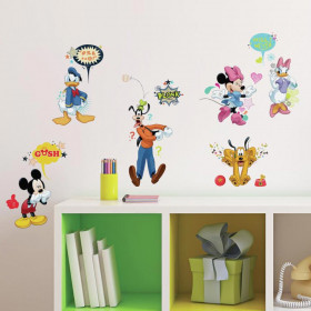 Mickey Mouse & vrienden – set wallsticker