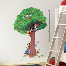 Disney - hoogtemeter wallsticker
