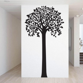 Hoge boom wallsticker