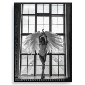 Posing Angel Poster wallsticker