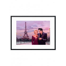 Paris Sunset (Chris Consani) Poster wallsticker