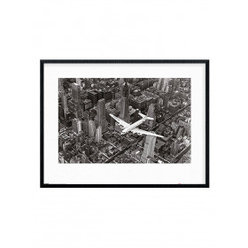 Time Life (DC-4 Over Manhattan) Poster wallsticker