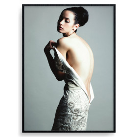 Vulnerable Posing Poster wallsticker
