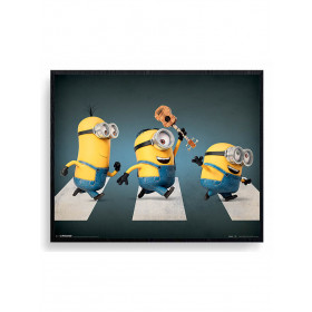 Minions (Abbey Road) Poster wallsticker