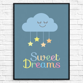 Sweet Dreams Poster 2 wallsticker