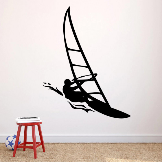 Windsurfer wallsticker