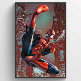 Spider-Man (Web Sling) Poster wallsticker