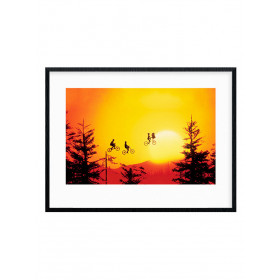 ET (Sunset) Poster wallsticker