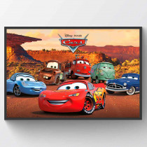 Cars Character Poster