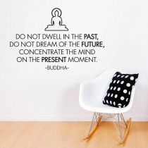 Do not dwell in the past - Buddha