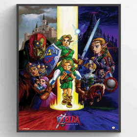 The Legend Of Zelda (Ocarina Of Time) Poster wallsticker