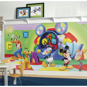 Mickey Mouse clubhuis - XL wallsticker