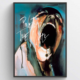 Pink Floyd The Wall Poster wallsticker