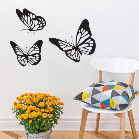Vlinders wallsticker