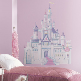 Disney Prinsessenkasteel wallsticker