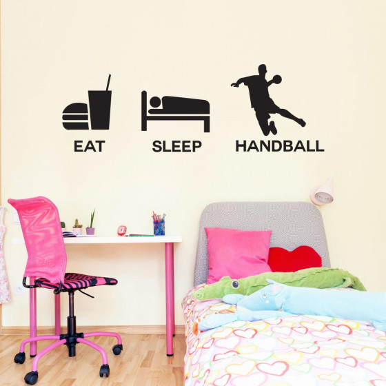 Handball wallsticker