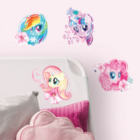 My Little Pony - watercolor set wallsticker