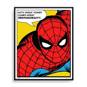 Spider-Man (Quote) Poster wallsticker