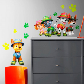 Paw Patrol - set wallsticker