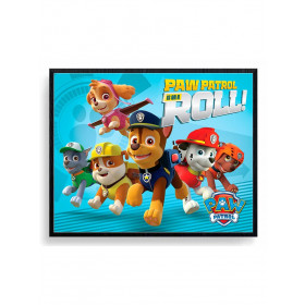 Paw Patrol (On A Roll) Poster wallsticker