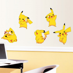 Pokemon Pikachu - set #2 wallsticker