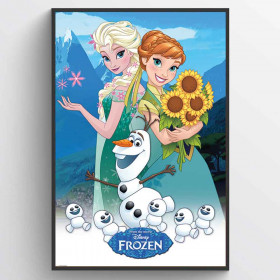 Frozen Fever Poster wallsticker
