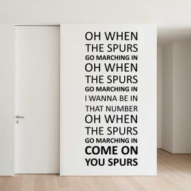 Come on you Spurs - Tottenham Hotspur F.C. wallsticker