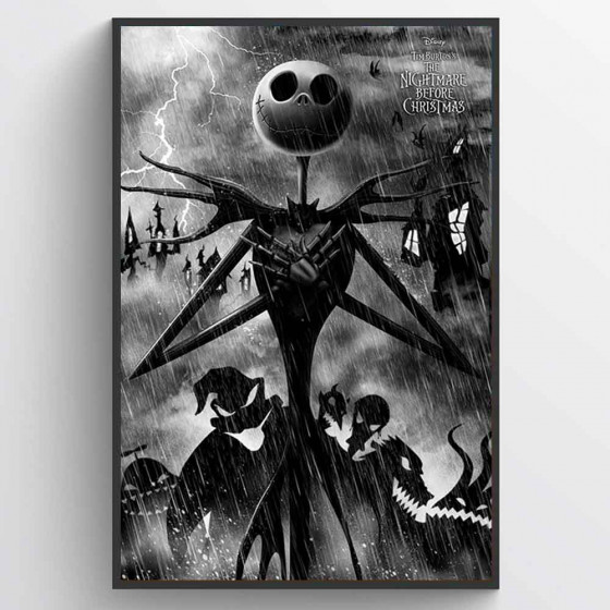 Nightmare Before Christmas Poster wallsticker