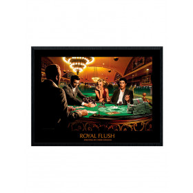 Royal Flush (Chris Consani) Poster wallsticker