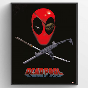 Deadpool (Eye Patch) Poster wallsticker