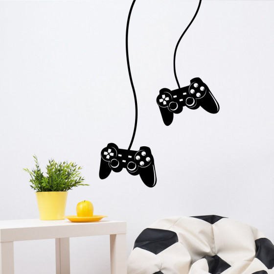Joypad Playstation wallsticker