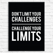 Challenge your limits Poster