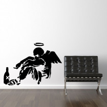 Drunken Angel - Banksy