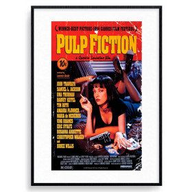 Pulp Fiction (Cover) Poster wallsticker