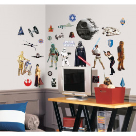 Star wars - set (klassiek) wallsticker