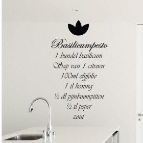 Pestorecept wallsticker