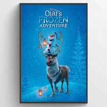Olaf's Frozen Adventure One Sheet Poster
