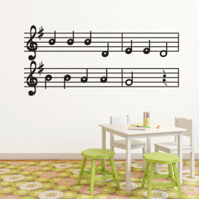 Wallsticker med noder wallsticker