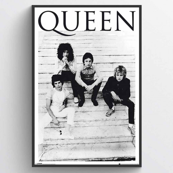 Queen - Brazil '81 Poster wallsticker